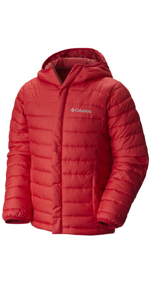 Columbia Powder Lite jas Kinderen rood